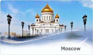 Excursions in Moscow. Tour to Moscow.